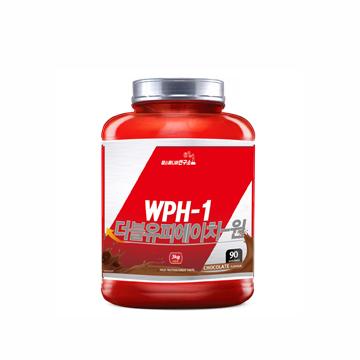 2018년 업그레이드 단백질 헬스보충제 WPH-1 3kg 대용량  100회분