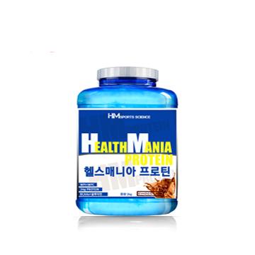 헬스 단백질보충제 헬스매니아프로틴2kg 맛있고 부드러운 초코맛