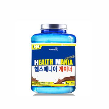 헬스매니아게이너4kg  벌크업용 곡물탄수화물 헬스 단백질보충제 초코맛